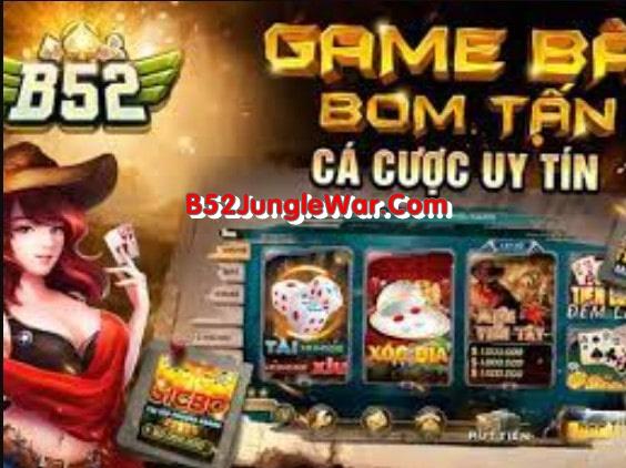 Danh mục trò chơi tại B52 Jungle War