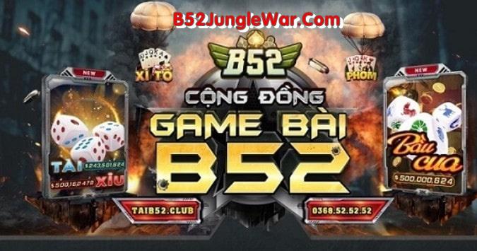 B52 Jungle War 3 min